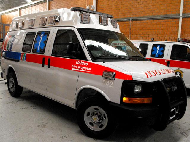 Ambulancia tipo ii ford