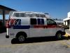Vista lateral de la Ambulancia Tipo II