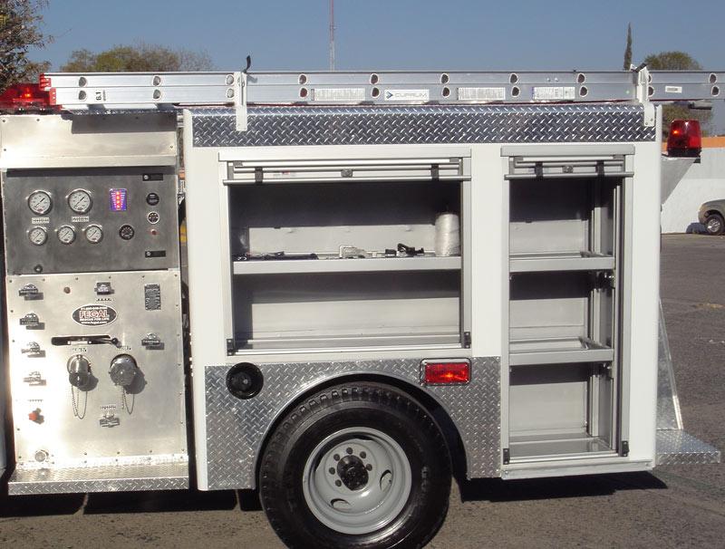 Compartimentos de la Unidad de Ataque Rápido