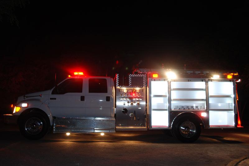 Iluminación del Camión Motobomba