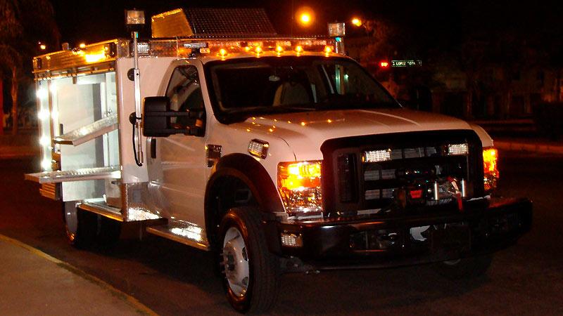 Transportación de la Unidad de Rescate Pesado